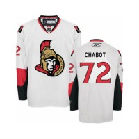 Men's Ottawa Senators #72 Thomas Chabot White Away NHL Jersey