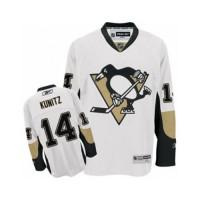 Men's Pittsburgh Penguins #14 Chris Kunitz White Away NHL Jersey