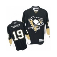 Men's Pittsburgh Penguins #19 Bryan Trottier Black Home NHL Jersey