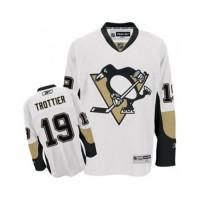 Men's Pittsburgh Penguins #19 Bryan Trottier White Away NHL Jersey