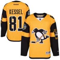 Men's Pittsburgh Penguins #81 Phil Kessel Gold 2017 Stadium Series Stitched NHL Jersey