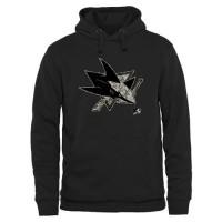 Men's San Jose Sharks Black Rink Warrior Pullover Hoodie