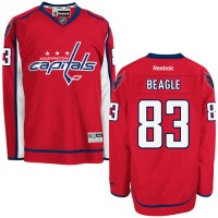 Men's Washington Capitals #83 Jay Beagle Red Home Jersey