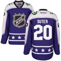Minnesota Wild #20 Ryan Suter Purple 2017 All-Star Central Division Stitched NHL Jersey