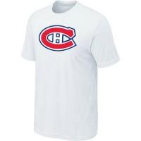Montreal Canadiens Big & Tall Logo White NHL T-Shirts