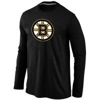 NHL Boston Bruins Big & Tall Logo Long Sleeve T-Shirt Black