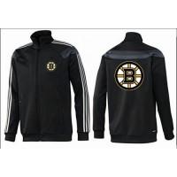 NHL Boston Bruins Zip Jackets Black-2