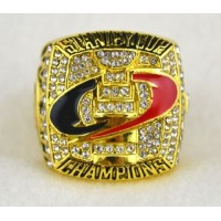 NHL Carolina Hurricanes World Champions Gold Ring