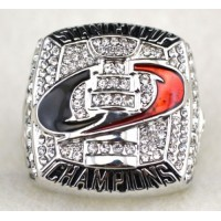 NHL Carolina Hurricanes World Champions Silver Ring