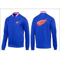 NHL Detroit Red Wings Zip Jackets Blue-1