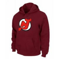NHL New Jersey Devils Big & Tall Logo Pullover Hoodie Red