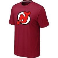 NHL New Jersey Devils Big & Tall Logo T-Shirt Red