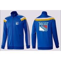 NHL New York Rangers Zip Jackets Blue-4