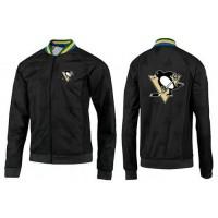 NHL Pittsburgh Penguins Zip Jackets Black-4