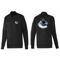NHL Vancouver Canucks Zip Jackets Black-1