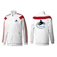 NHL Vancouver Canucks Zip Jackets White-1