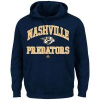 Nashville Predators Majestic Heart & Soul Hoodie Navy Blue