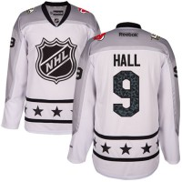 New Jersey Devils #9 Taylor Hall White 2017 All-Star Metropolitan Division Stitched NHL Jersey
