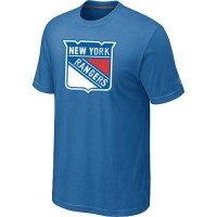 New York Rangers Big & Tall Logo Indigo Blue NHL T-Shirts