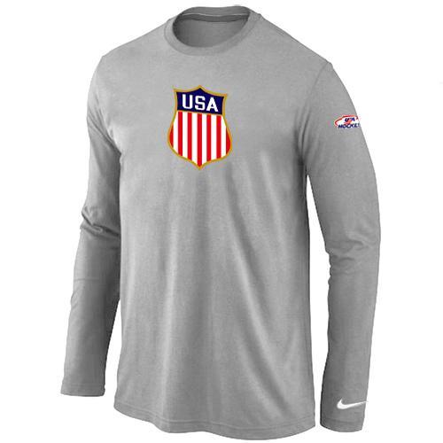 Nike Team USA Hockey Winter Olympics KO Collection Locker Room Long