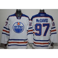 Oilers #97 Connor McDavid White Stitched NHL Jersey