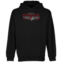 Old Time Hockey Arizona Coyotes Osaka Pullover Hoodie Black