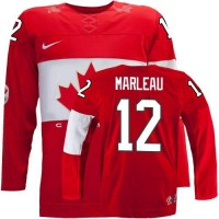 Olympic 2014 CA. #12 Patrick Marleau Red Stitched NHL Jersey