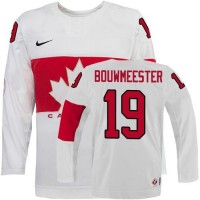 Olympic 2014 CA. #19 Jay Bouwmeester White Stitched NHL Jersey