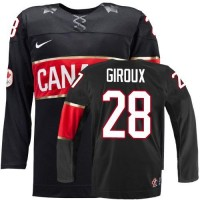 Olympic 2014 CA. #28 Claude Giroux Black Stitched NHL Jersey