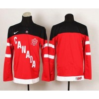 Olympic CA. Blank Red 100th Anniversary Stitched NHL Jersey