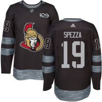 Ottawa Senators #19 Jason Spezza Black 1917-2017 100th Anniversary Stitched NHL Jersey