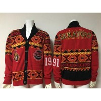 Ottawa Senators Red Men's NHL Ugly Sweater