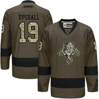 Panthers #19 Scottie Upshall Green Salute to Service Stitched NHL Jersey
