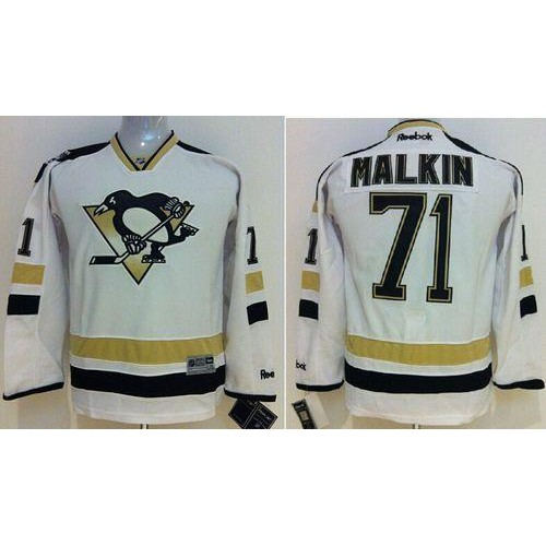 finest selection 60892 2be9f Penguins #71 Evgeni Malkin White 2014 Stadium Series ...