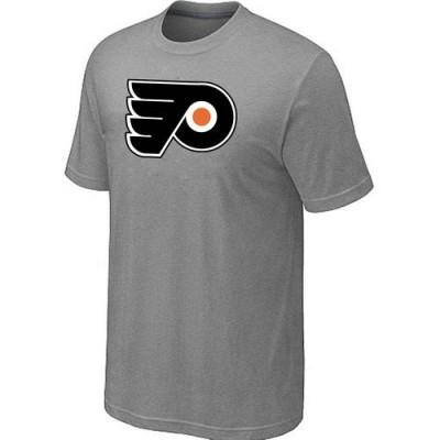 Philadelphia Flyers Big & Tall Logo Grey NHL T-Shirts