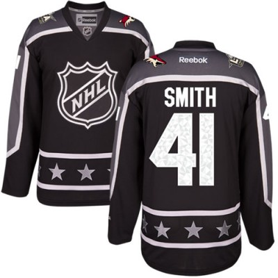Phoenix Coyotes #41 Mike Smith Black 2017 All-Star Pacific Division Stitched NHL Jersey