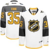 Predators #35 Pekka Rinne White 2016 All Star Stitched NHL Jersey