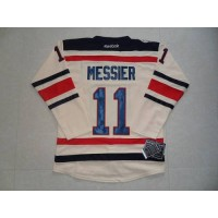 Rangers #11 Mark Messier Cream 2012 Winter Classic Stitched NHL Jersey