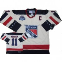 Rangers #11 Mark Messier White Stitched 2012 Winter Classic NHL Jersey