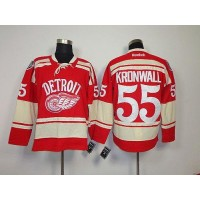 Red Wings #55 Niklas Kronwall Red 2014 Winter Classic Stitched NHL Jersey