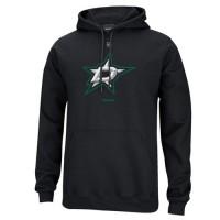Reebok Dallas Stars Primary Logo Pullover Hoodie Black