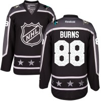 San Jose Sharks #88 Brent Burns Black 2017 All-Star Pacific Division Stitched NHL Jersey