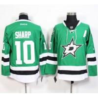 Stars #10 Patrick Sharp Green Stitched NHL Jersey