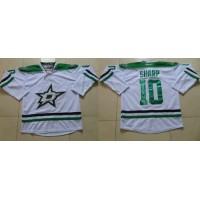 Stars #10 Patrick Sharp White Stitched NHL Jersey