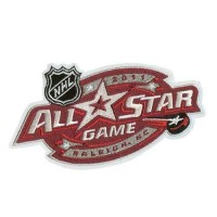 Stitched 2011 NHL All-star Game Jersey Patch Raleigh North Carolina Hurricanes