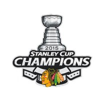 Stitched 2015 NHL Stanley Cup Final Champions Chicago Blackhawks Jersey Commemorative Patch