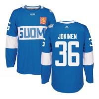 Team Finland #36 Jussi Jokinen Blue 2016 World Cup Stitched NHL Jersey