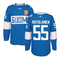 Team Finland #55 Rasmus Ristolainen Blue 2016 World Cup Stitched NHL Jersey