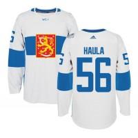 Team Finland #56 Erik Haula White 2016 World Cup Stitched NHL Jersey