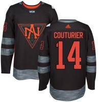 Team North America #14 Sean Couturier Black 2016 World Cup Stitched NHL Jersey